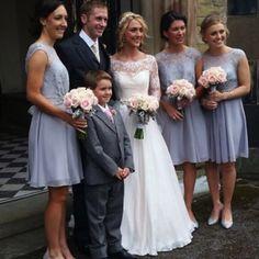 Laura Trott wedding dress