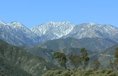 The San Gabriel Mountains, north of Los Angeles in south California - 700000 acres of scenic wilderness, rising to 10064 feet Mount Baldy. Places Around The World, Around The Worlds, The Big Year, South California, San Gabriel Mountains, Mountain View, Mountain Range, What A Wonderful World, The Great Outdoors