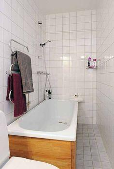 Baño pequeño para apartamento