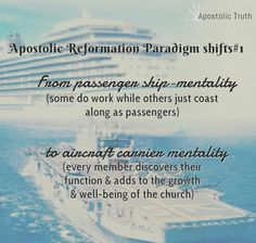 #ApostolicTruth #apostolicreformation #HarvesterReformationalChurch #ApostolicReformationParadigmShifts