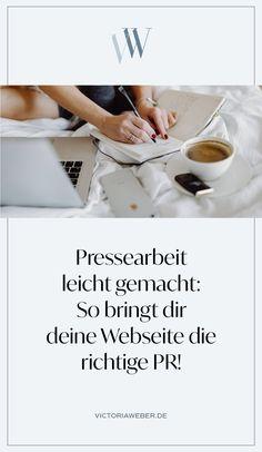 Du willst gute PR für dein Online Business? Presse und Öffentlichkeitsarbeit sind unerlässlich, um dein Business bekannt zu machen! Bereite deine Webseite vor, damit Medien und Journalisten genau die richtigen Informationen für das nächste Feature zur Hand haben! So bekommst du Publicity, steigerst deinen Bekanntheitsgrad und landest in Zeitschriften, Onlinemedien, Zeitungen oder im Fernsehen. Pressearbeit ist mit einer eigenen Homepage leichter, als du denkst!
