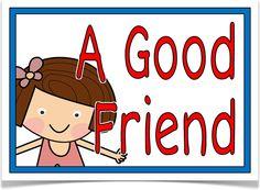 A Good Friend - Treetop Displays - EYFS, KS1, KS2 classroom display and primary teaching aid resource