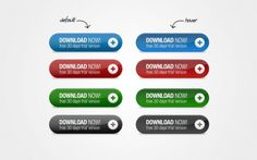 4 Amazing Call to Action Download Buttons Set - http://www.welovesolo.com/4-amazing-call-to-action-download-buttons-set/