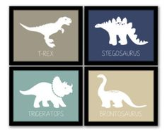 Image result for cool modern little boys room decor dinosaurs