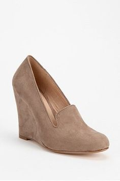 Chelsea Crew Wedge Loafer- want so bad