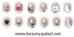 #Nailart Besuchen Sie unser Nail Art Sticker Sortiment www.beauty-palast.net