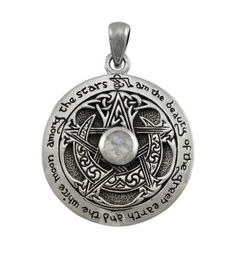 Sterling-Silver-Crescent-Moon-Pentacle-Pendant-Pagan