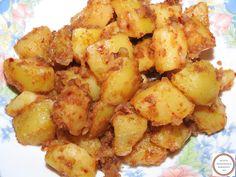 Retete cartofi taranesti cu ceapa la tigaie reteta de casa traditionala