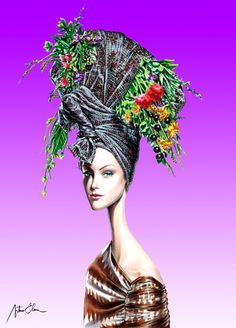 Arturo Elena, the master of fashion illustrations