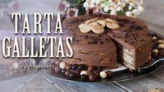 Tarta de Galletas, Chocolate y Café · Receta Fácil y Rápida