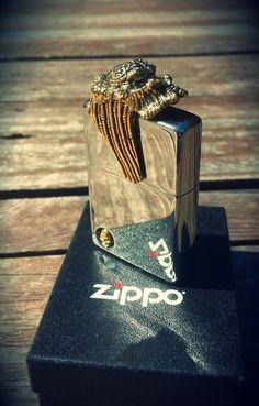 Custom Zippo the Predator by SCP