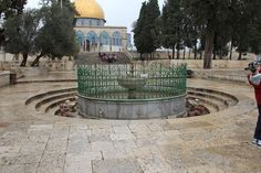 """A top Temple Mount. Could this have been the very location of the """"Holy of Holies"""" the place where God dwelt among men? This could have been the location that housed the Ark of The Covenant."""