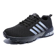 68d0cb4d640 Kuako Men Women Running Shoes Air Trainers Fitness Casual Sports Walk Gym Jogging  Athletic Sneakers.