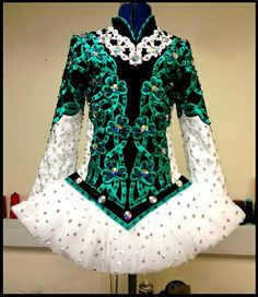 blue irish dance dress - Google Search