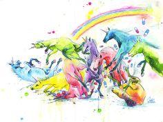 <3 Unicorn Slam by Lora Zombie