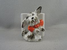 Vintage Scottish Terrier Planter Collectible