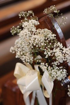 Lisa O'Dwyer Photography, Artistic Photography in Co. Kildare Ireland: decorating the pews for your church ceremony in ireland...