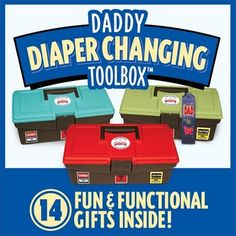 The perfect gift for dads-to-be: Diaper Changing Toolbox