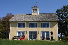 Barn Style Home - farmhouse - exterior - new york - by Campbell Robert J Jr & Sons Inc