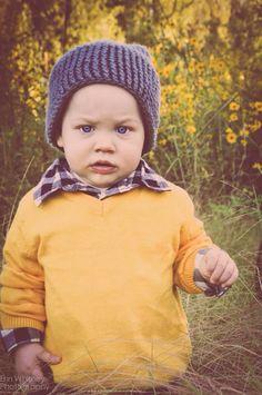Cute hipster baby beanie. #etsy #Rosechet #ErinWhitneyPhotography