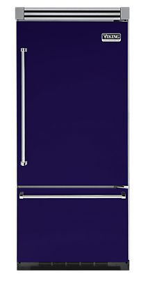"36"" COBALT BLUE Refrigerator/Freezer - Viking Range"