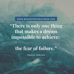 Are you afraid of failure? Do you need a extra boost of motivation to achieve success? Do you want to become more resilient? If yes, you need to read this post. Let these 21 quotes about failure helps you achieve greatness! Failure Quotes, Achieve Success, Motivational Quotes, 21st, Let It Be, Inspirational, Reading, Paulo Coelho, Motivational Life Quotes