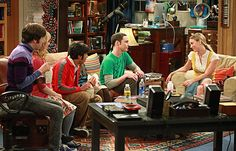 """""""THE BIG BANG THEORY"""" ON CBS. ONE OF THE FUNNIES SHOWS EVER....."""