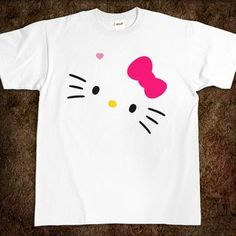 DIY: Hello Kitty lOGO T-Shirt!!! (make your own, do it yourself)