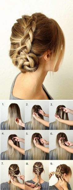 try these 3 minute updo hairstyles