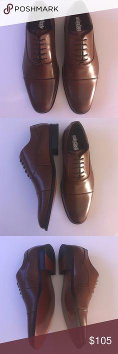 New Kenneth Cole Oxford lace up men's shoes 9.5 M New Kenneth Cole Men's Dress Shoes Oxford lace up cognac faux Leather size 9.5M Kenneth Cole Shoes Oxfords & Derbys