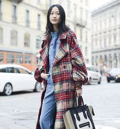 """""""Plaid doesn't have to be preppy - see 23 ways to wear it like a badass, now on Stylecaster.com"""""""
