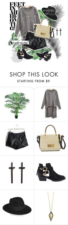 """""""one of those nights.."""" by diana1990 ❤ liked on Polyvore featuring Capelli New York, Marc by Marc Jacobs, Steve Madden, Karl Lagerfeld, Lumière, Sheinside, polyvoreeditorial and PolyvoreNYFW"""
