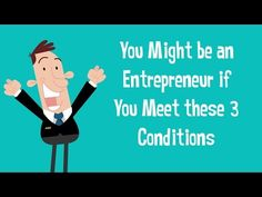 You might be an entrepreneur if you meet these 3 conditions. https://multibra.in/xnpgz