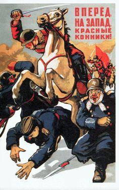 013_1942_Vpered Na Zapad konniki_V.Ivanov.jpg (1043×1659)