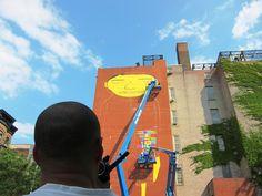 Os Gemeos & Futura in NYC