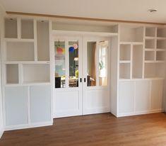 Bookshelves, Bookcase, Room Doors, Book Nooks, Bars For Home, Living Room Designs, Sweet Home, Bedroom Decor, New Homes