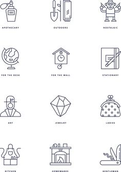 Pictograms for Not-another-bill on Behance