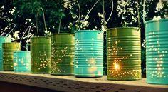DIY Outdoor Lighting - Outdoor Entertaining Ideas