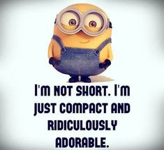 Oh yeah...am so saying this next time my lack of height is commented on...lol!!!