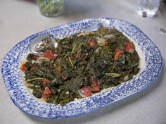 Braised Kale and Tomatoes