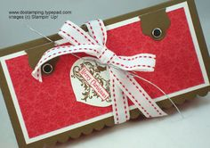Big Shot: Holiday Nugget Matchbox - DOstamping with Dawn, Stampin' Up! Demonstrator