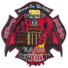 Coates Ville, PA Fire Department Patch station three could look at this patch