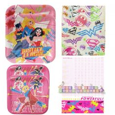 SUPER GIRL Birthday Party Supplies ~ Create Your Set w | Girl ...