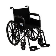 Drive Medical Silver Sport 1 Wheelchair.  The Silver Sport 1 Wheelchair is a tour de force in design, safety and ease of use for both the user and caregiver alike. Easy to maneuver as well as fold and carry. Suitable for all ages.
