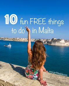 10 fun FREE things to do in Malta – go 4 the globe Malta Travel Guide, Malta Holiday, Capital Of Malta, Malta Island, Bangkok Travel, Holidays Around The World, Best Travel Deals, Free Things To Do, Fun Things