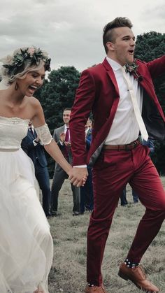 Perfect suit for a maroon and sunflower wedding wedding suit Maroon Wedding, Tuxedo Wedding, Burgundy Wedding, Boho Wedding, Fall Wedding, Sexy Wedding Dresses, Wedding Suits, Wedding Attire, Maroon Suit