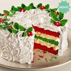 Christmas Cake Designs, Christmas Cake Decorations, Christmas Cupcakes, Christmas Sweets, Holiday Cakes, Christmas Baking, Xmas Food, Pumpkin Spice Cupcakes, Fall Desserts