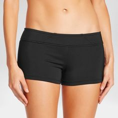 3abb74144c Look and feel great while playing your favorite swim sport in the Mossimo  Solid Boyshort.