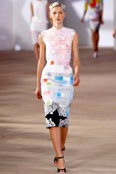 Preen Spring 2012 Ready-to-Wear