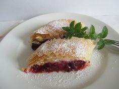 Hungarian Desserts, Strudel, French Toast, Strawberry, Fruit, Breakfast, Food, Morning Coffee, Essen